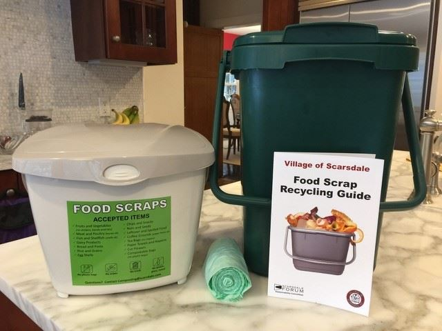 Food Scrap Collection Bins Picture