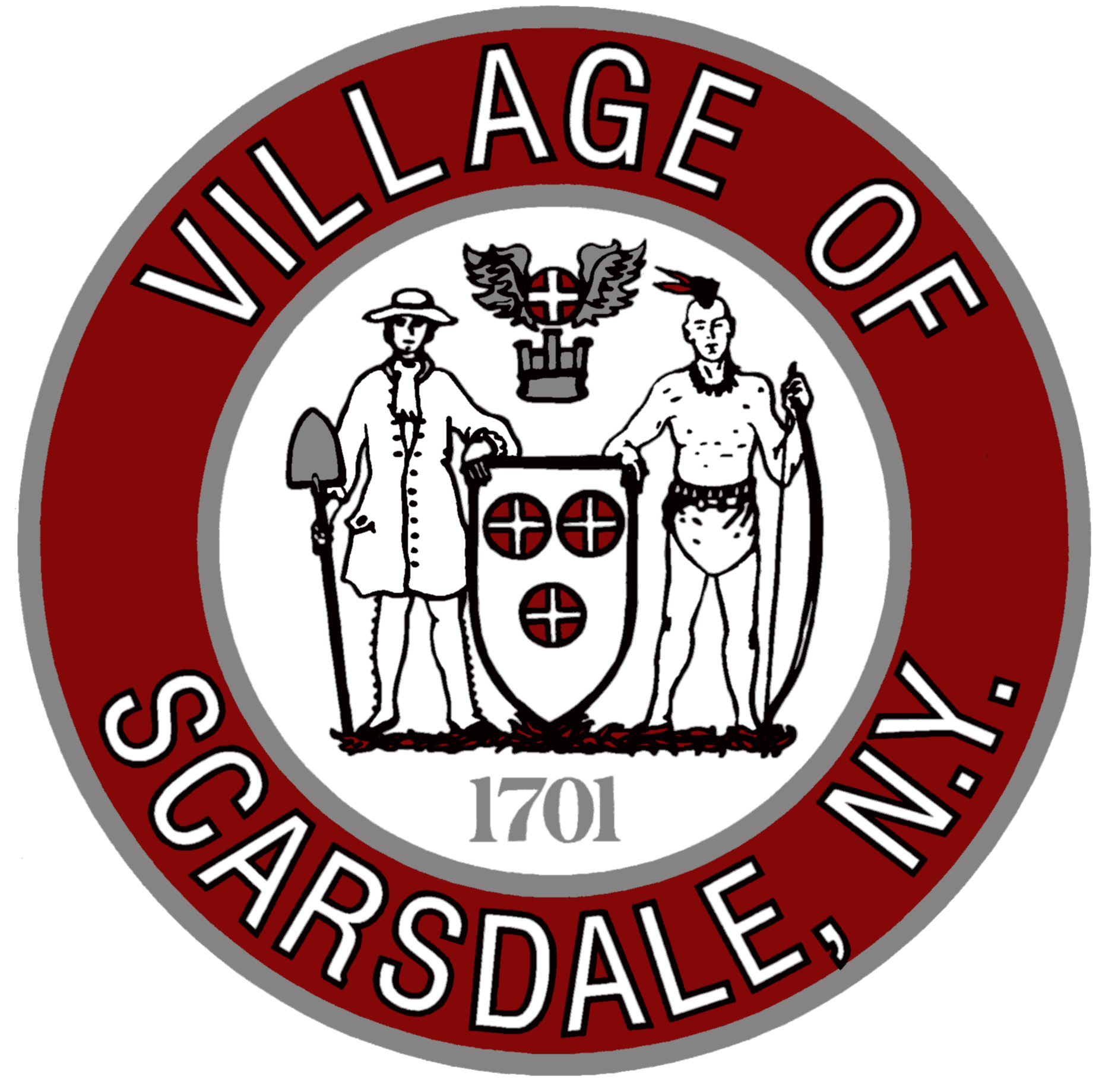 Scarsdale Department of Public Works Logo