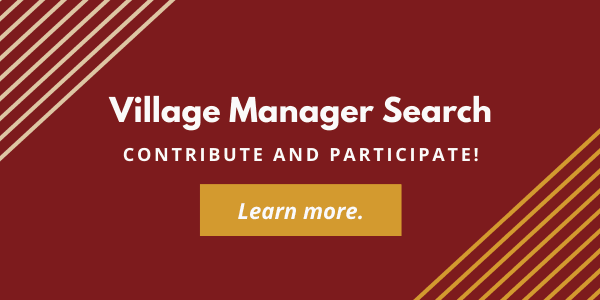 Village Manager Search